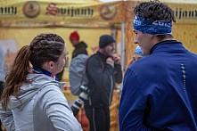 Starty a cílová fota Winter Skyrace 2019