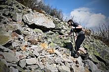 Compressport Ještěd SkyRace 2018 - kameny