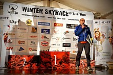 WINTER Skyrace - vyhlášení výsledků